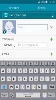 Samsung Galaxy Note 4 - Contact, Appels, SMS/MMS - Ajouter un contact - Étape 7