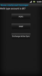 Sony ST25i Xperia U - E-mail - Handmatig instellen - Stap 7