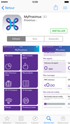 Apple iPhone 6 iOS 9 - Applications - MyProximus - Étape 8