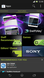 Sony C6603 Xperia Z - Applications - Downloading applications - Step 16