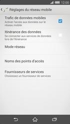 Sony Xperia Z2 - Internet et connexion - Activer la 4G - Étape 8
