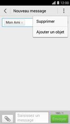Huawei Ascend Y550 - MMS - envoi d'images - Étape 7