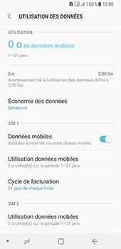 Samsung Galaxy A8 - Internet et connexion - Désactiver la connexion Internet - Étape 6