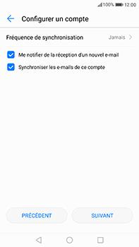 Huawei P10 Plus - E-mail - Configuration manuelle - Étape 17