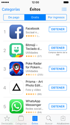 Apple iPhone SE iOS 10 - Aplicaciones - Descargar aplicaciones - Paso 7