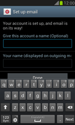 Samsung I8190 Galaxy S III Mini - E-mail - Manual configuration (yahoo) - Step 9