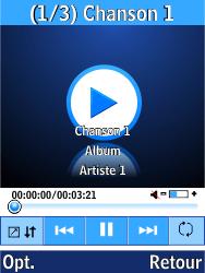 LG G359 - Photos, vidéos, musique - Ecouter de la musique - Étape 6