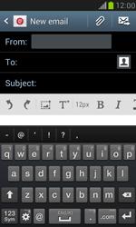 Samsung I8190 Galaxy S III Mini - E-mail - Sending emails - Step 5