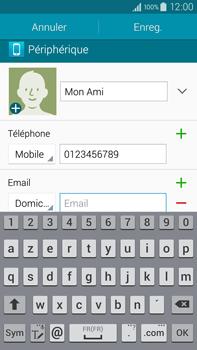 Samsung Galaxy Note 4 - Contact, Appels, SMS/MMS - Ajouter un contact - Étape 11