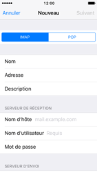 Apple iPhone SE - iOS 10 - E-mail - Configuration manuelle - Étape 11