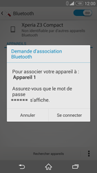 Sony D5803 Xperia Z3 Compact - Bluetooth - connexion Bluetooth - Étape 9