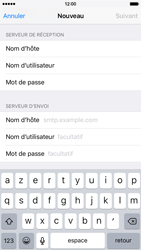 Apple iPhone 6s - E-mail - Configuration manuelle - Étape 13
