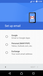 Sony Sony Xperia E5 (F3313) - E-mail - Manual configuration (gmail) - Step 8