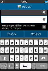 Samsung Wave M - E-mails - Ajouter ou modifier un compte e-mail - Étape 8