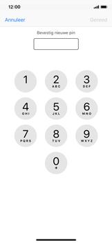 Apple iPhone X - Beveiliging en ouderlijk toezicht - Hoe wijzig ik mijn SIM PIN-code - Stap 10