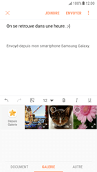 Samsung G920F Galaxy S6 - Android Nougat - E-mail - Envoi d