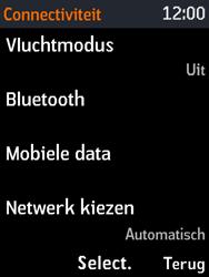 Nokia 3310 - Netwerk - Gebruik in het buitenland - Stap 5