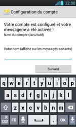 LG P700 Optimus L7 - E-mail - Configuration manuelle - Étape 17