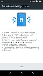 HTC Desire 650 - Internet et connexion - Partager votre connexion en Wi-Fi - Étape 15