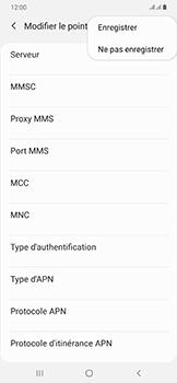 Samsung Galaxy A50 - MMS - configuration manuelle - Étape 16