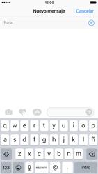 Apple iPhone 6 iOS 10 - Mensajería - Escribir y enviar un mensaje multimedia - Paso 4