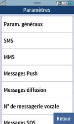 Samsung S5250 Wave 525 - SMS - configuration manuelle - Étape 5
