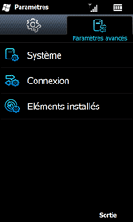 Samsung I8000 Omnia II - MMS - configuration manuelle - Étape 5