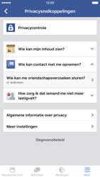 Apple iPhone 6 met iOS 9 (Model A1586) - Privacy - Privacy instellingen van Facebook aanpassen - Stap 23