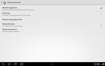 Samsung N8020 Galaxy Note 10-1 LTE - Internet - Uitzetten - Stap 6