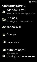 LG E900 Optimus 7 - E-mail - Configuration manuelle - Étape 6