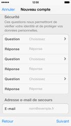 Apple iPhone 5s - Applications - Créer un compte - Étape 13