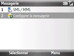 HTC S521 Snap - E-mail - Configuration manuelle - Étape 4