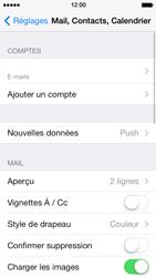 Apple iPhone 5 - E-mails - Ajouter ou modifier un compte e-mail - Étape 15