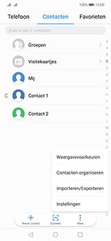 Huawei mate-20-lite-dual-sim-model-sne-lx1 - Contacten en data - Contacten kopiëren van toestel naar SIM - Stap 4