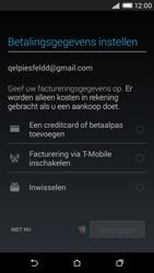 HTC Desire 816 4G (A5) - Applicaties - Account aanmaken - Stap 19