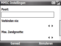 HTC S521 Snap - MMS - handmatig instellen - Stap 16