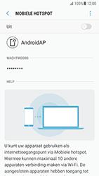 Samsung Galaxy S7 - Android N - WiFi - Mobiele hotspot instellen - Stap 12