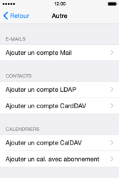 Apple iPhone 4s iOS 8 - E-mail - Configuration manuelle - Étape 6