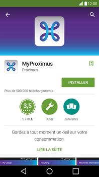 LG H815 G4 - Applications - MyProximus - Étape 8