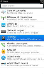 BlackBerry 9860 Torch - BlackBerry activation - BlackBerry ID activation - Étape 4