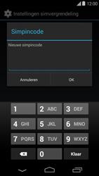 Motorola Moto E (1st Gen) (Kitkat) - Beveiliging en ouderlijk toezicht - Hoe wijzig ik mijn SIM PIN-code - Stap 8