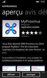Nokia Lumia 530 - Applications - MyProximus - Étape 9