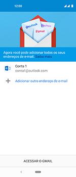Motorola One Vision - Email - Como configurar seu celular para receber e enviar e-mails - Etapa 12