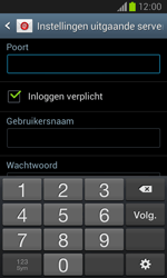 Samsung Galaxy Core (I8260) - E-mail - Account instellen (POP3 zonder SMTP-verificatie) - Stap 14