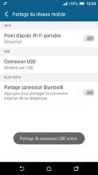 HTC One A9 - Internet et connexion - Utiliser le mode modem par USB - Étape 9