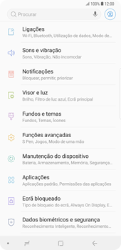 Samsung Galaxy Note9 - Segurança - Como ativar o código PIN do cartão de telemóvel -  4