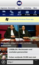 Nokia Lumia 520 - Internet - Hoe te internetten - Stap 17