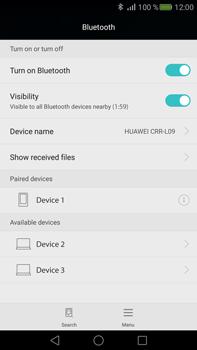 Huawei Mate S - WiFi and Bluetooth - Setup Bluetooth Pairing - Step 7