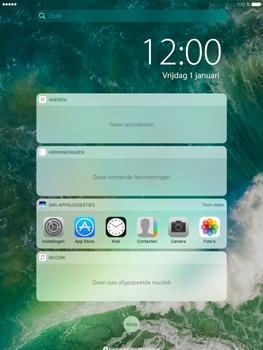 Apple iPad Pro 9.7 - iOS 10 - iOS features - Vergrendelscherm - Stap 3