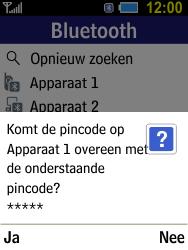 Samsung Xcover 550 (SM-B550H) - Contacten en data - Contacten overzetten via Bluetooth - Stap 11